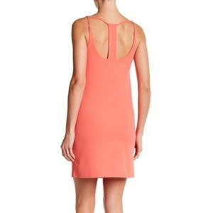 NWT The Vanity Room Caged Back Shift Dress